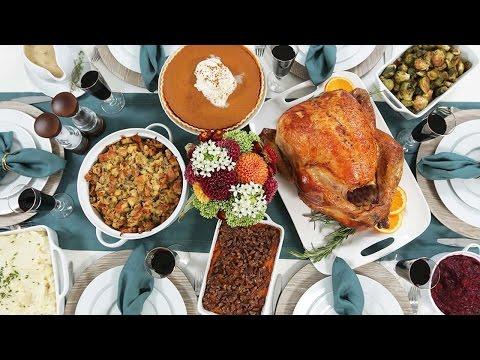 My Thanksgiving Dinner Countdown