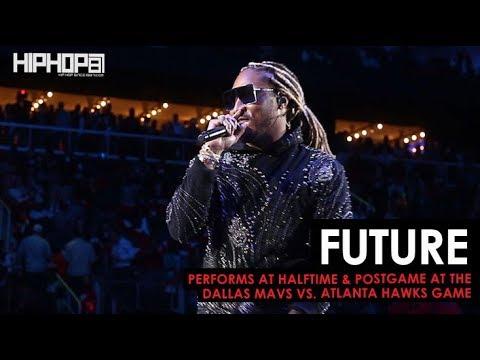 """Future Performs """"Mask Off"""", """"March Madness"""" & More (Dallas Mavs vs. Atlanta Hawks Game 10-24-18)"""