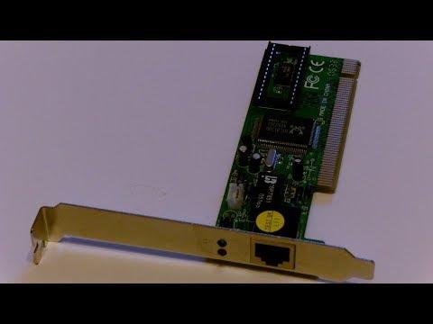 Realtek RTL8139 Ethernetkarte unter Windows 10