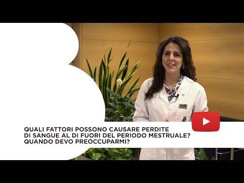 Quali fattori possono causare perdite di sangue al di fuori del periodo mestruale?