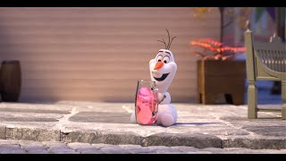 """Pink Lemonade"" At Home With Olaf created at home by Hyrum Osmond. Voiced from home by Josh Gad.   See more from official Disney Animation: