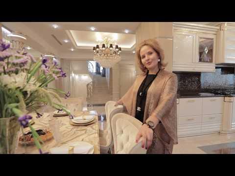 Проект интерьера роскошной гостиной