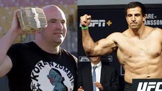 Боец UFC готов возобновить карьеру, доход UFC за 2018 год, Дмитрию Смолякову бросили вызов