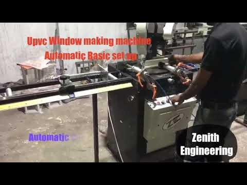 UPVC Window Making Machine