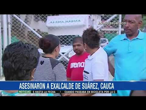 Exalcalde de Suarez, Cauca, fue asesinado en zona rural de dicho municipio