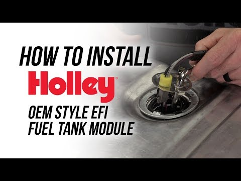 How To Install Holley's 255 LPH OEM Style EFI Fuel Tank Module
