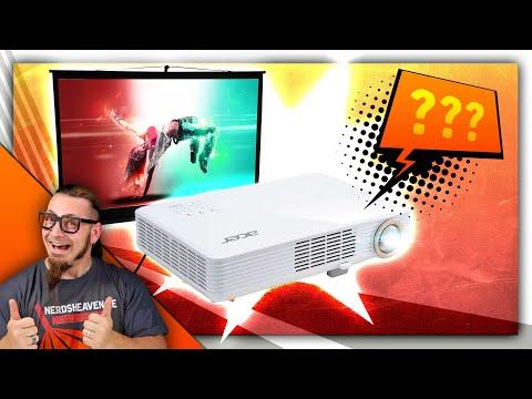 Acer PD1520i - LED-Beamer im klaren Vorteil? - Test