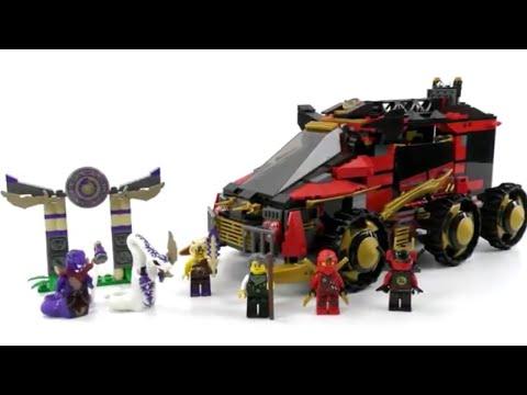 LEGO Ninjago Set 70750 - Mobile Ninja-Basis / Review deutsch