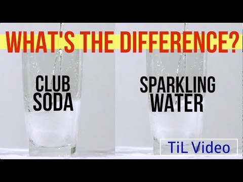 Club Soda vs. Sparkling Water: What's the difference?