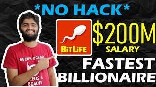 How to get $200 Million Salary | Bitlife