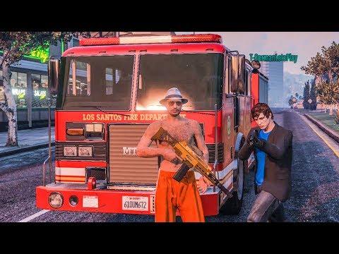 Die GEFÄHRLICHSTEN Feuerwehrmänner in GTA 5 Online