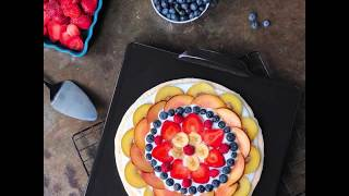 How to make Gluten-Free Fruit Pizza