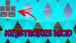 Keystrokes  Mod Review 1.8.9 Chroma