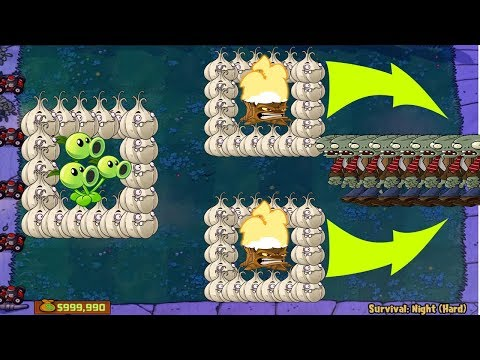 1 THREEPEATER VS GARGANTUAR VS GIGA-GARGANTUAR PLANTS VS ZOMBIES