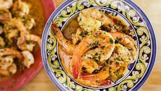 Rachael Ray's Calabrian-Style Shrimp Scampi