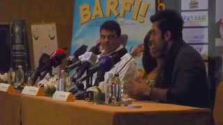 Ranbir Kapoor answers Press Questions in Dubai