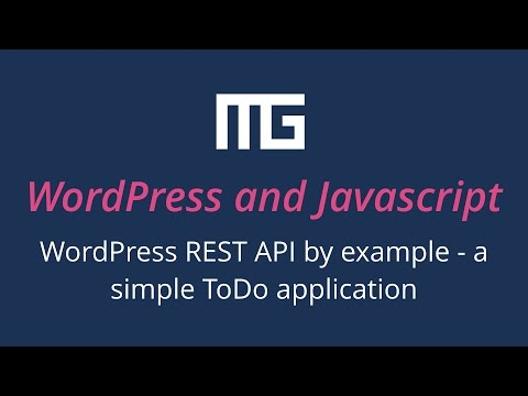 WordPress REST API By Example - A Simple ToDo Application Mp3