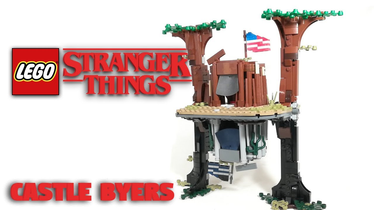 LEGO CASTLE BYERS From Stranger Things! // LEGO MOC