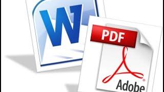 تحويل وورد إلى pdf بأسهل وأخف برنامج