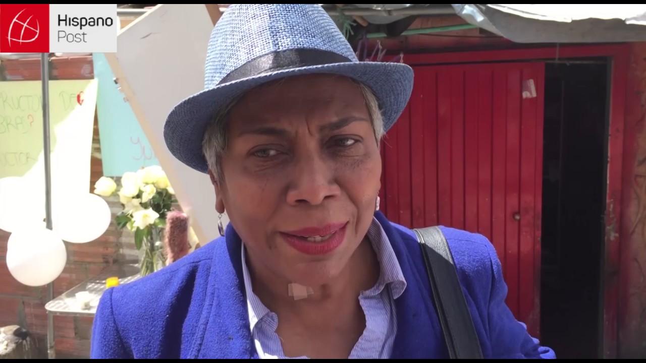 Protestas y dolor por la nina colombiana