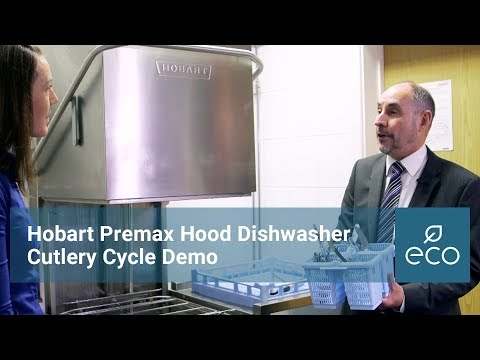 Hobart Premax Hood Dishwasher Cutlery Cycle