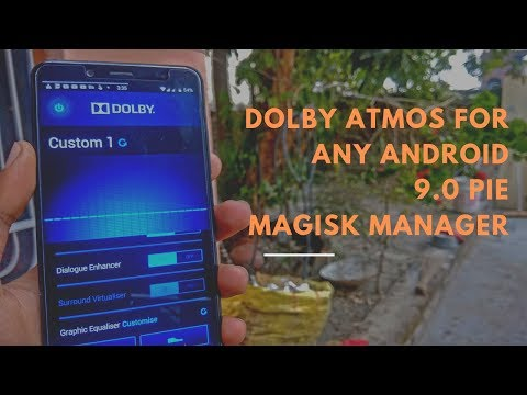 How to install Dolby digital plus on any android|| Pie 9 0