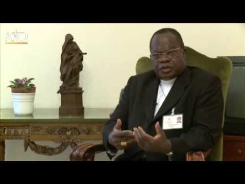 Cardinal Monsengwo, président délégué du Synode