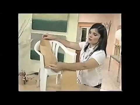 Punto y Puntadas 385. Funda para Sillas y Mantel de Jardín. Marina Orcoyen.