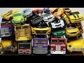 Full Transformers Stop motion - Optimus Prime, Bumblebee, Tobot Robot & Lego Animation Car Toys