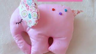 Мягкая Игрушка розовый слон.