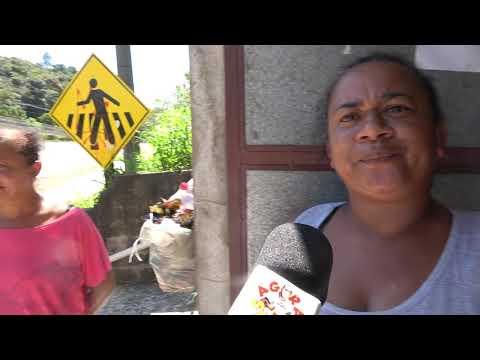 Mães do 72 reclamam da situação do transporte escolar