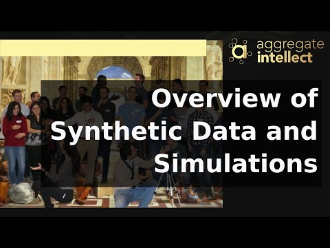 Overview of Synthetic Data and Simulations