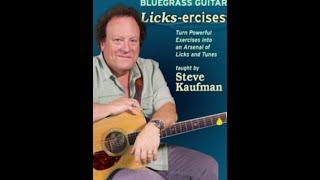 """Steve Kaufman's """"Bluegrass Guitar LicksErcises"""""""