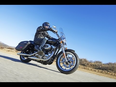2014 Harley-Davidson SuperLow 1200T | The Lighter Way to go Touring