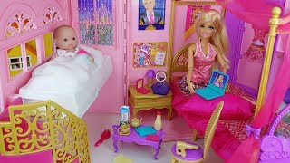 Baby doll house bag toys story transforming house play - ToyMong TV 토이몽