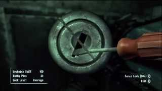Fallout 3: Brotherhood of Steel Citadel Secret/Hidden Special RARE Weapon Armory