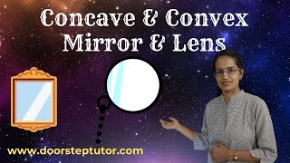 Concave & Convex Mirror & Lens: Identify, Mnemonics, Applications & Uses | Olympiad | Physics