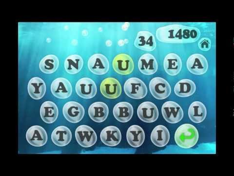 Video of Bubble Words