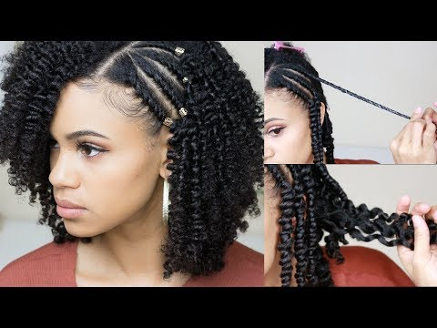 How To Get A Defined Twist Out   Natural Hair