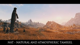 Skyrim SE Mods: NAT - Natural and Atmospheric Tamriel by L00