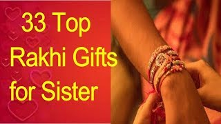33Top Rakhi Gifts For Sister/RakshaBandhan Gifts For Sister /Rakhi Gifts 2019,#Brother#sister