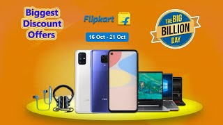 Flipkart Big Billion Days Sale 2020 - Biggest Discount Deals & Offers on Mobiles & Accessories