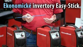 Ekonomické elektródové invertory EASY-STICK