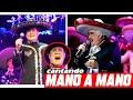 Manuel José VS Vicente Fernandez - VOLVER VOLVER [ Escuchandolos mano a mano ]