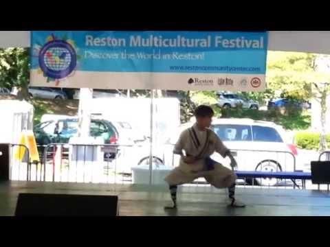 Chang Hu Xing Yi Men Fist Form - Reston Multicultural Festival