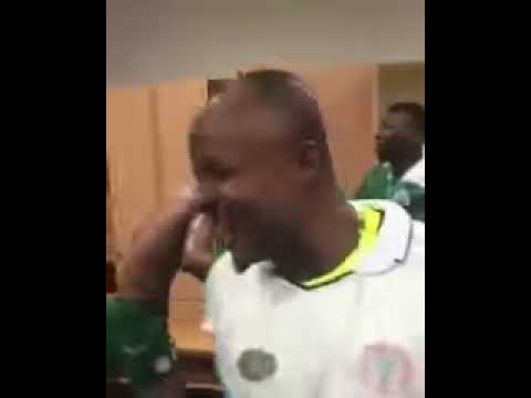 Super Eagles Celebrate World Cup Qualification Victory