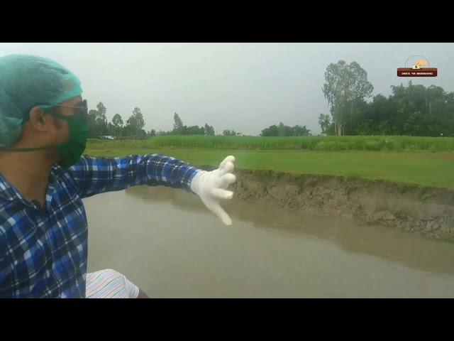 ভারতীয় সীমান্তবর্তী কালজানী নদীতে পানিবৃদ্ধি