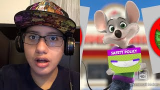 What Is Going On Here? || Food Theory: Chuck E Cheese Pizza, Should You Be Scared? REACTION