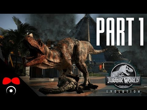 TRICERATOPS MELICHAR! | Jurassic World: Evolution #1