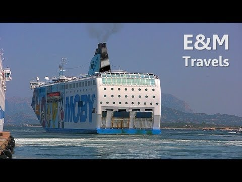 Sardinia | Moby Wonder Ferry from Olbia to Livorno
